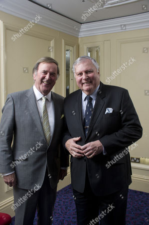 Sir Terry Wogan with Peter Alliss