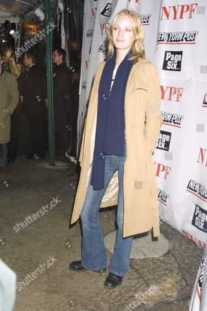 Amy Wesson at The New York Post 2002 New York Fashion Week Party at the Mercer Kitchen in New York City, New York on February 8, 2002.  Manhattan, New York  Photo® Matt Baron/BEI