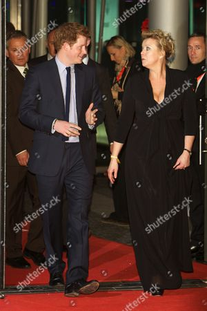 Stock Image of Prince Harry and Marion Horn