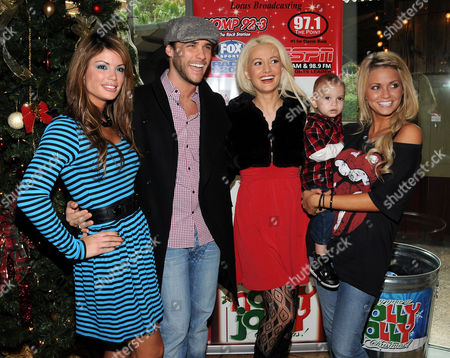 Laura Croft, Josh Strickland, Holly Madison and Angel Porrino