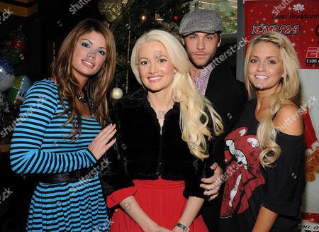 Laura Croft, Holly Madison, Josh Stickland and Angel Porrino