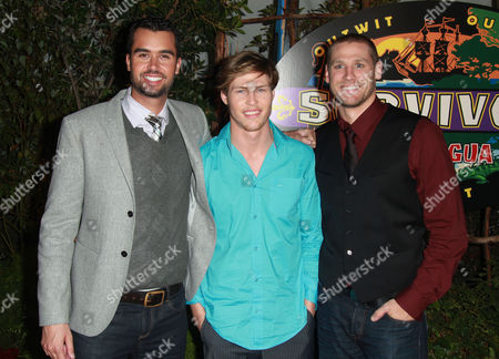 Stock Image of Matthew Lenahan, Fabio and Chase Rice