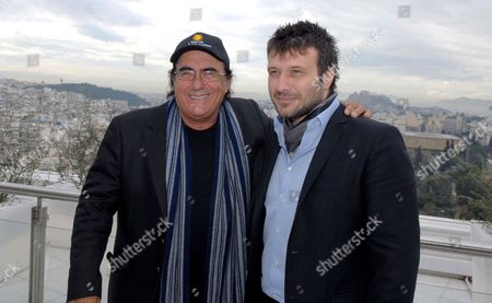 Stock Photo of Albano Carriasi and Yannis Ploutarhos