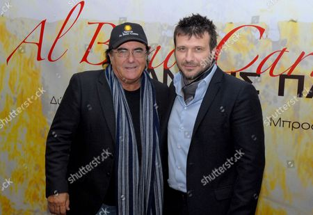 Stock Picture of Albano Carriasi and Yannis Ploutarhos