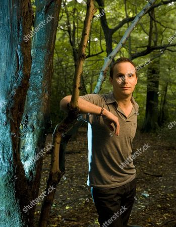 Jim Loach at Queens Wood in Highgate, north London