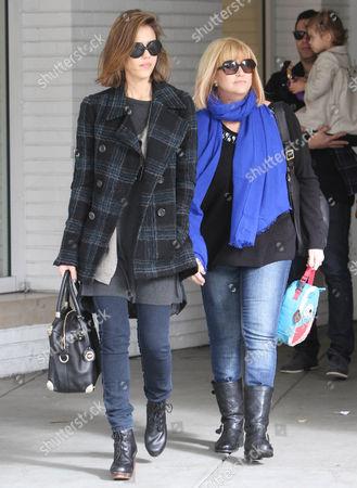 Jessica Alba and mother Catherine Alba