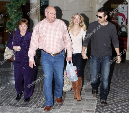 Editorial picture of LeAnn Rimes and Eddie Cibrian out and about at the Commons Mall in Calabasas, California, America - 26 Dec 2010