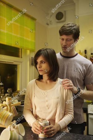 Episoed: 'Aftermath' Pictured: Charlotte Riley as Lucy Payne and Samuel Roukin as Marcus Payne