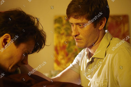 Episode: 'Aftermath' Pictured: Monica Dolan as Maggie Forrest and Samuel Roukin as Marcus Payne.
