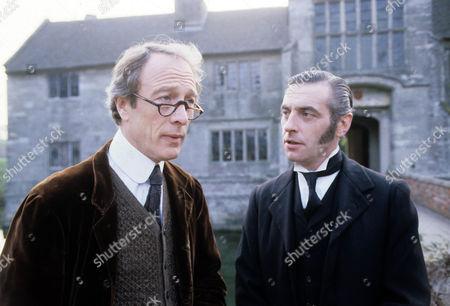 The Musgrave Ritual Picture shows - Michael Culver as Sir Reginald Musgrave and James Hazeldine as Richard Brunton