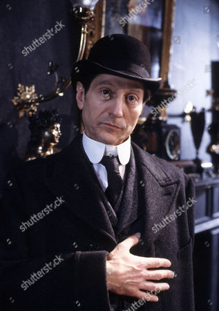 The Second Stain Picture shows - Colin Jeavons as Inspector Lestrade