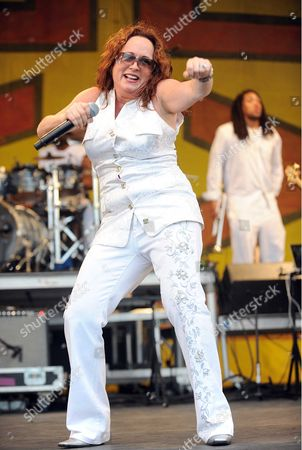 Editorial photo of Teena Marie in concert at the New Orleans Jazz and Heritage Festival, New Orleans, America - 01 May 2010
