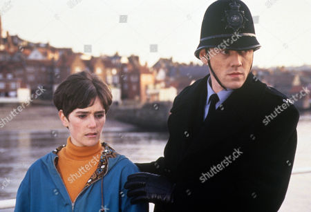 Episode 1 - Wishing Well Picture shows - Judy Brooke as Julie and Mark Katie Price as PC Phil Bellamy