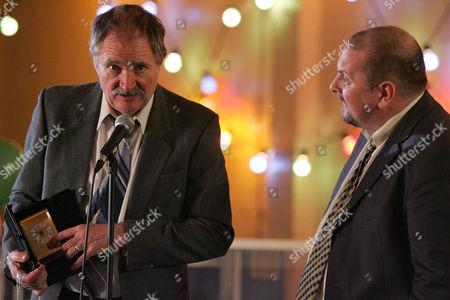 Jim Broadbent as Stan McDermott and Charles Dale as Steve