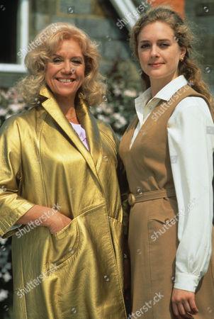 Diane Langton as Ruby Rowan and Juliette Gruber as Jo Weston