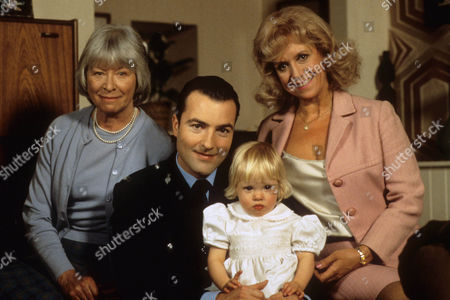 Episode  9 - Catch us if you Can Katie, daughter of PC Rowan, with Nick Berry as PC Rowan and Anne Stallybrass as grandmother Eileen Reynolds and Diane Langton as grandmother Ruby Rowan