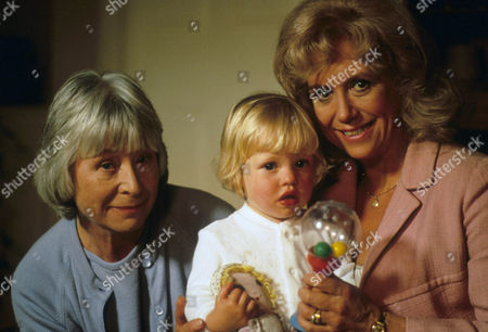 Episode  9 - Catch us if you Can Katie, daughter of PC Rowan, with Anne Stallybrass as grandmother Eileen Reynolds and Diane Langton as grandmother Ruby Rowan