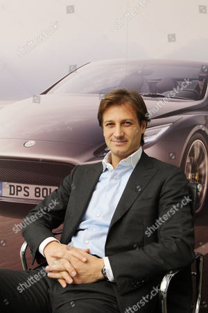 Dany Bahar, CEO of Group Lotus plc in his office