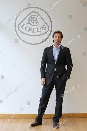 Dany Bahar, CEO of Group Lotus plc at the company headquarters