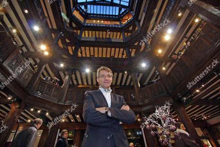 Liberty Chief Executive Geoffroy De La Bourdonnaye