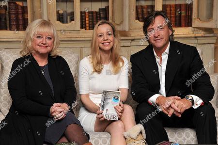 Judy Finnigan, Rosamund Lupton and Richard Madeley
