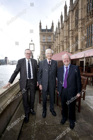 Stock Photo of Lord Craigavon, Lord Elton and Lord Faulkner