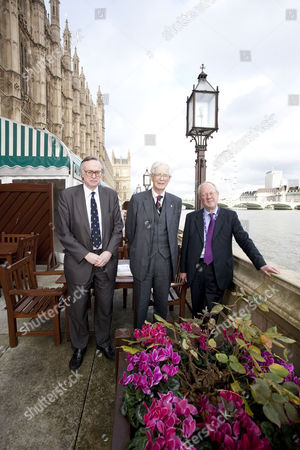 Stock Image of Lord Craigavon, Lord Elton and Lord Faulkner