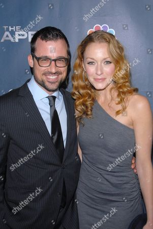 Stock Picture of Zach Bliss with Jennifer Ferrin