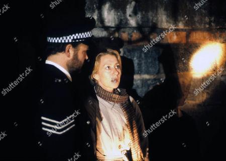 Helen Mirren as DCI Jane Tennison and Rod Arthur as Sgt. Tomlins