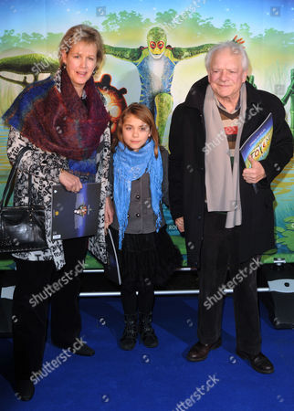David Jason, wife Gill Hinchcliffe and daughter Sophie Mae