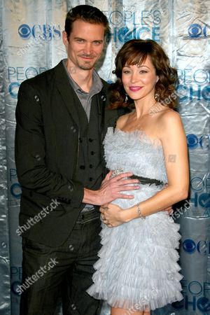 Stock Image of Jesse Warren and Autumn Reeser