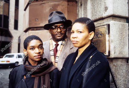 Jenny Jules as Sarah Allen, George Harris as Vernon Allen and Ashley James as Cleo Allen