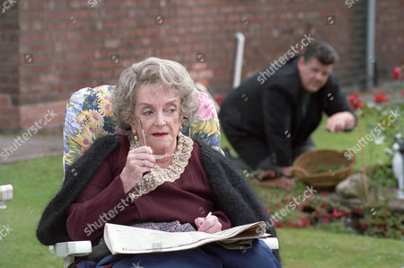 Robbie Coltrane as Dr Eddie Fitz Fitzgerald and Beryl Reid as his mother