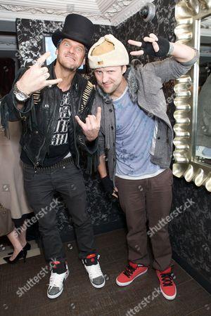 Mathew Pritchard and Lee Dainton aka Dirty Sanchez