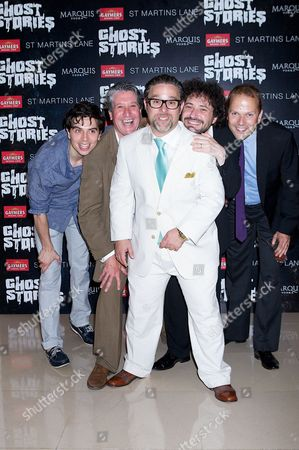 Ryan Gage (cast), David Cardy (cast), Andy Nyman (lead in Ghost Stories), Jeremy Dyson (director), Nicolas Burns (cast)