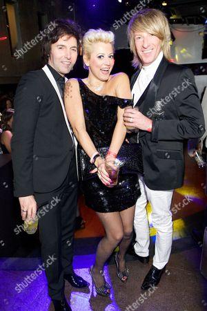 Tony Papas, Caroline Monk and Ian Carmichael