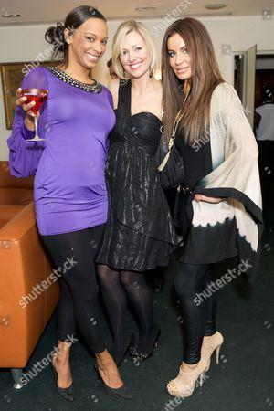 Stock Photo of Sasha Parker, Korin Nolan and Jo-Emma Larvin