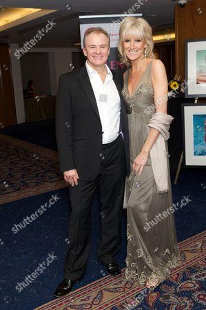 Bobby Davro and Vicky Wright