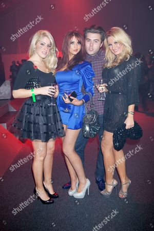 Candy Jacobs, Amy Childs, Michael Woods and Sam Faiers