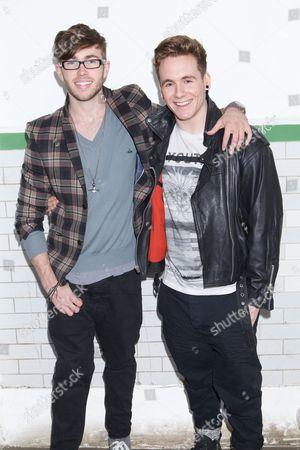 Alex Murdoch and Ryan-Lee Seager