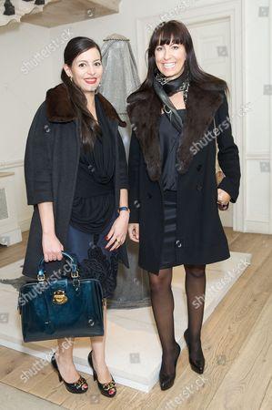 Nivin Elgamal and Victoria Stirban