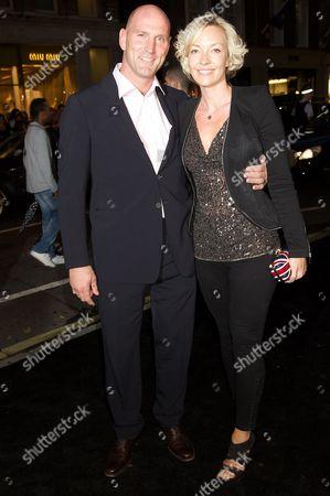 Stock Image of Lawrence Dallaglio and Alice Corbett