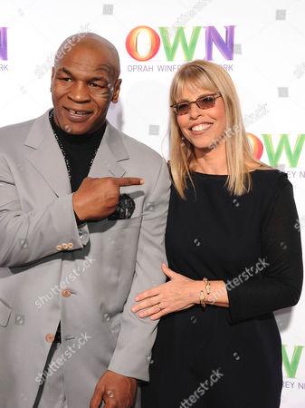 Mike Tyson, Marjorie Kaplan President and GM Animal Planet Enterprises
