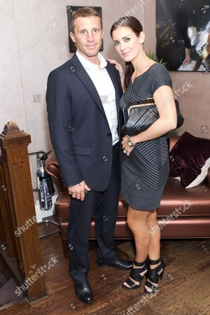 Stock Photo of Paul Sampson and Kirsty Gallacher