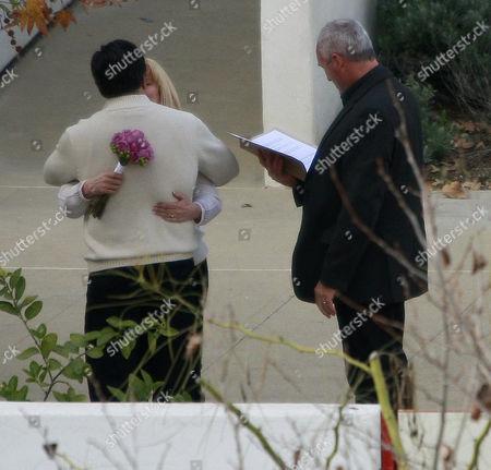 Jessica Alba's parents, Catherine Alba and Mark Alba renew their wedding vows