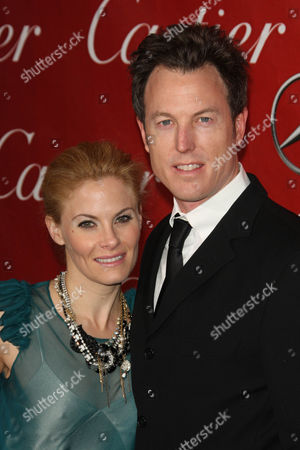 Stock Image of Marisa Zanuck and Dean Zanuck