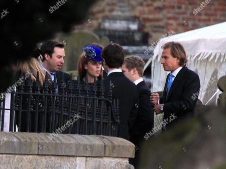 Princess Beatrice and boyfriend Dave Clark