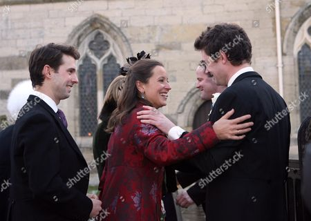 Editorial picture of Wedding of Harry Aubrey-Fletcher and Sarah Louise Stourton, St Andrew's Church, Aldborough, Boroughbridge, Britain - 08 Jan 2011