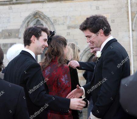 Editorial photo of Wedding of Harry Aubrey-Fletcher and Sarah Louise Stourton, St Andrew's Church, Aldborough, Boroughbridge, Britain - 08 Jan 2011