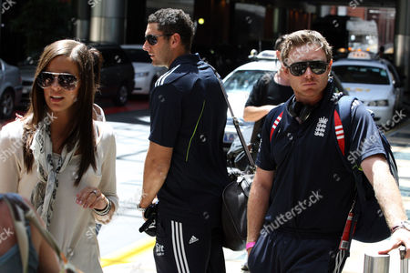Editorial picture of England Cricket Players in Sydney, Australia - 08 Jan 2011